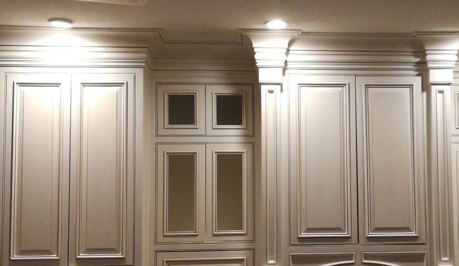 Cabinet Glazing Antique Paint Cabinets White Cream Cabinet