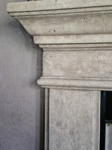 Fireplace Stone Glaze Faux Paint, Cast Stone - Dallas, Frisco, Plano, McKinney, Allen, Prosper TX