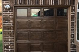 Garage Door Paint, Faux Wood - Dallas, Frisco, Plano, McKinney, Allen, Prosper TX