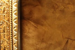 Multi-layered Gold & Bronze Metallic Paint