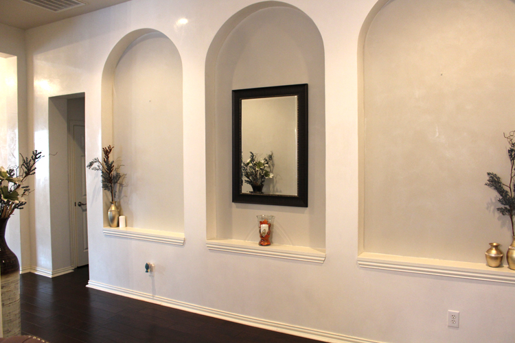 High Gloss Venetian Plaster and Quartz Stone Paint