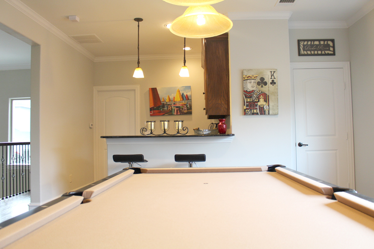 Game Room – Paint and Trim Work