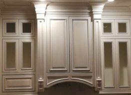 Cabinet Glazing, Antique Paint Cabinets, White, Cream Cabinet Paint - Dallas, Frisco, Plano, McKinney, Allen, Prosper TX ftrd
